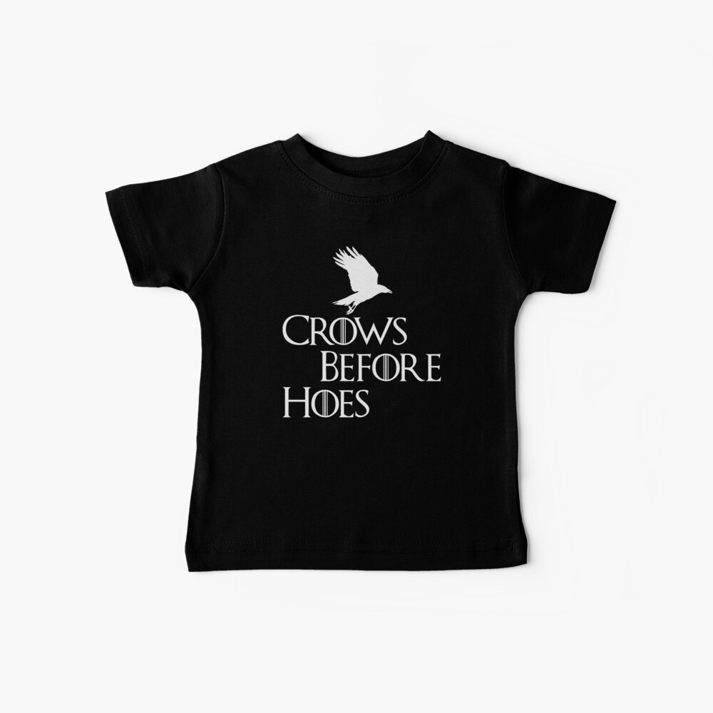 Krähen vor Hacken Baby T-Shirt