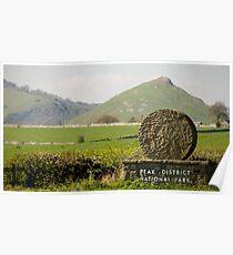 Thorpe Cloud: The Peak District Poster