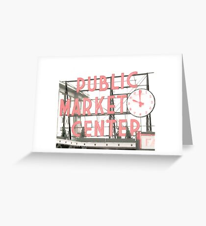Pike Place Greeting Card