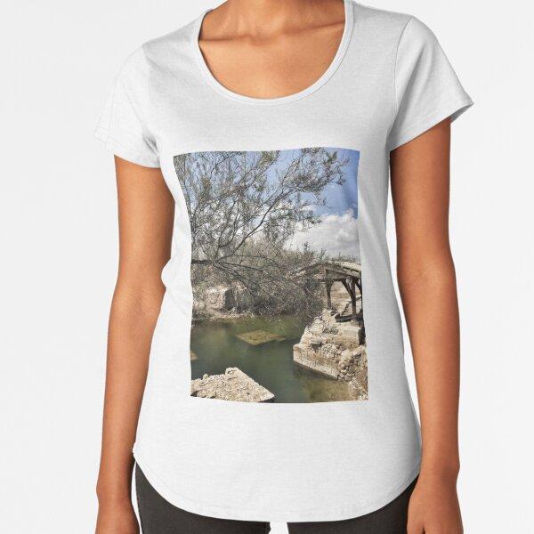 The Baptism of Christ Premium Scoop T-Shirt