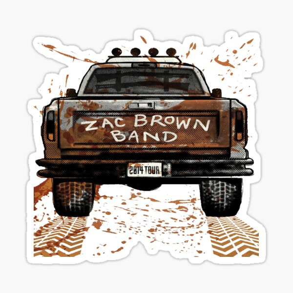 Zac Brown Band Sticker