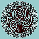 I am a Stag: Van Dyke Brown by Aakheperure