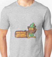 Waldige Eule Unisex T-Shirt