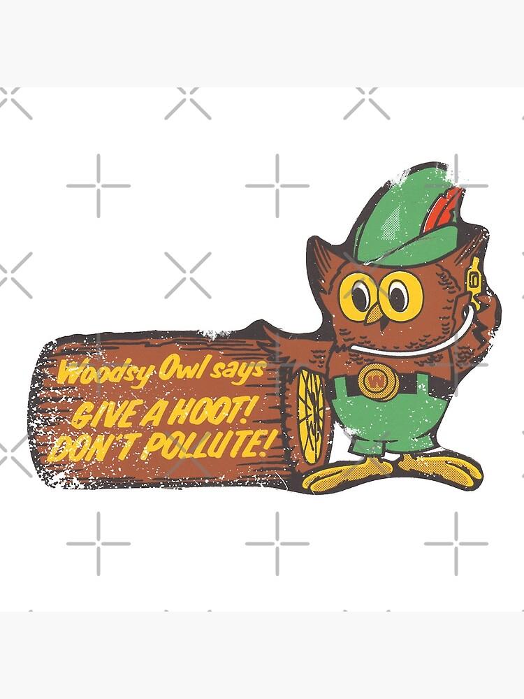 Woodsy Owl by Retrorockit