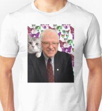 Subtle Bernie Sanders Print T-Shirt