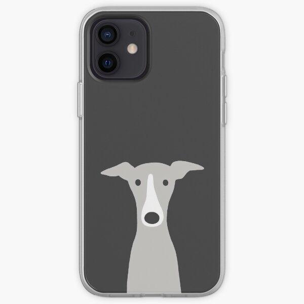Greyhound   Italian Greyhound   Cute Whippet Dog  iPhone Soft Case