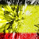 Extruded flag of Belgium by Dr-Pen