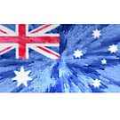 Extruded flag of Australia by Dr-Pen