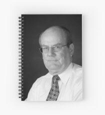 Corporate Portrait of Frazer Gascoigne Spiral Notebook