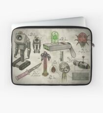 Rick and Morty - Vintage Gadgets #1 Laptop Sleeve