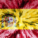 Extruded Flag of Spain by Dr-Pen