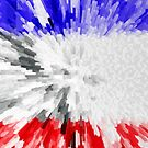 Extruded Flag of France by Dr-Pen