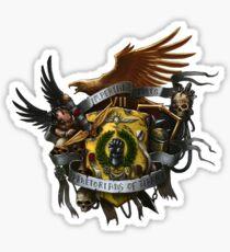Héraldique des poings impériaux Sticker