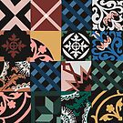 Tiled and tessellated  by Robyn Hammond
