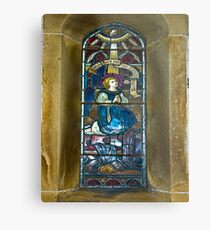 Window #4 - East Witton Church Metal Print