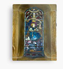 Window #4 - East Witton Church Metal Print