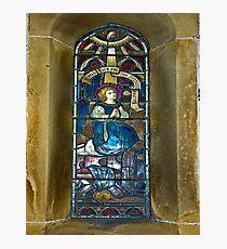 Window #4 - East Witton Church Photographic Print