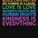 LGBTQ Black Lives Matter Wissenschaft Menschenrechte Rainbow von everydayjane
