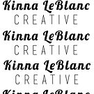 KLC Signature logo all-over print by KLCreative