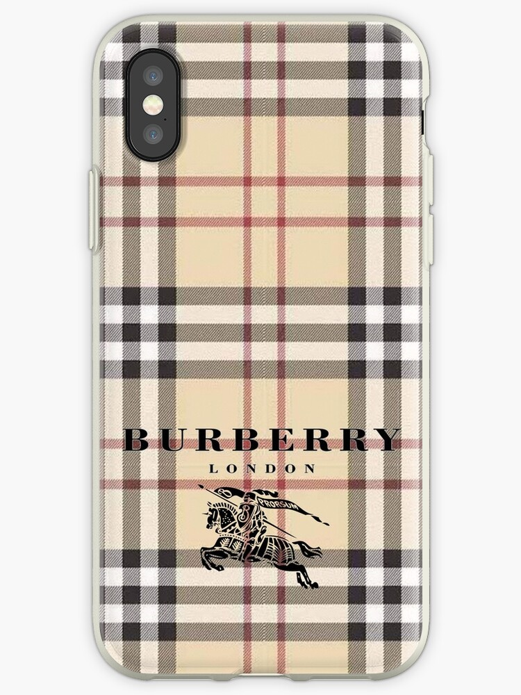 sports shoes f08c6 6592c 'Burberry' iPhone Case by jskdp