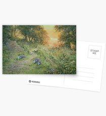 Badger Lane Postcards