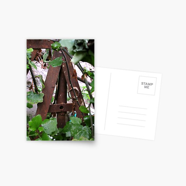 Letter A Postcard