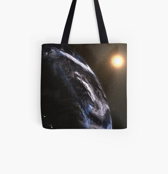 My Home All Over Print Tote Bag