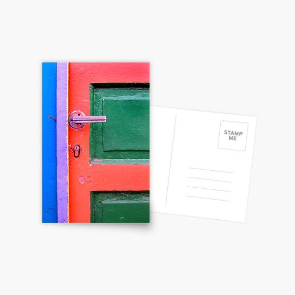 Letter F Postcard