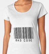 "Person of Interest ""Bad Code"" Women's Premium T-Shirt"
