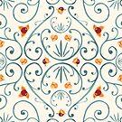 Bittersweet Flourish Pattern by Evvie Marin