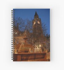 Manchester by Night Spiral Notebook
