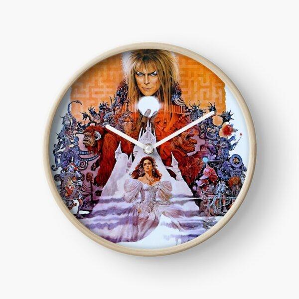 Labyrinth Movie Poster Clock