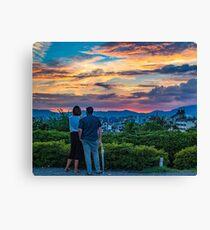 After storm sunset Canvas Print