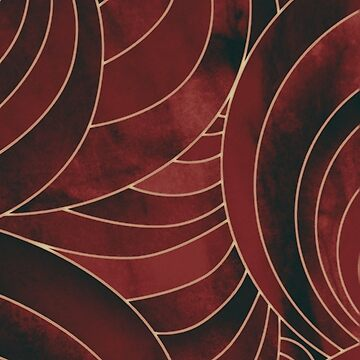 Red Marble Pattern by TM490