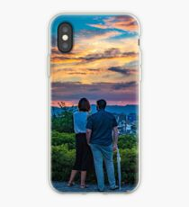 After storm sunset iPhone Case
