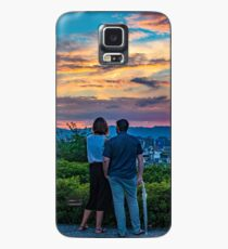 After storm sunset Case/Skin for Samsung Galaxy
