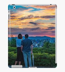 After storm sunset iPad Case/Skin