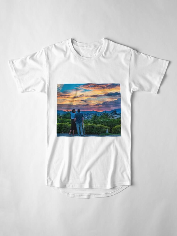 Alternate view of After storm sunset Long T-Shirt