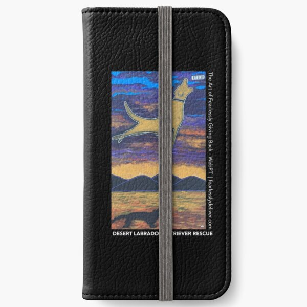 Dive Far & High iPhone Wallet