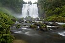 Marokopa Falls, Waitomo. by Michael Treloar
