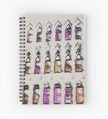 Up All Night Spiral Notebook