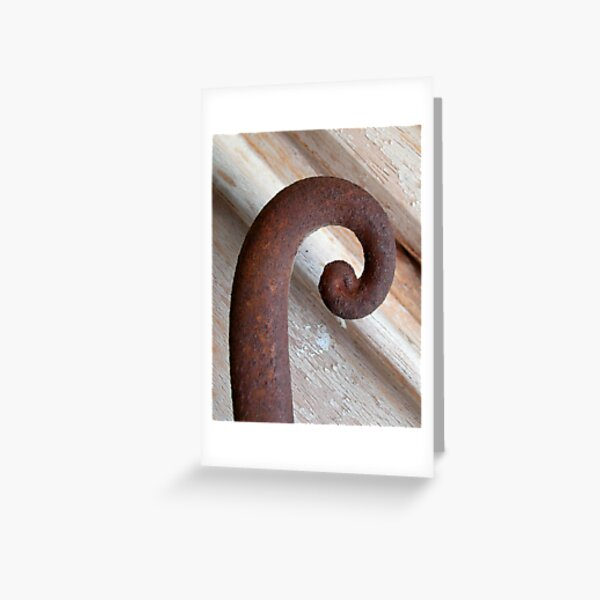 Letter R Greeting Card