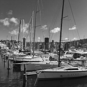 Yacht Masts by urbanfragments