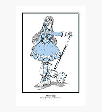Winifred - The Berserker (clean version) Photographic Print