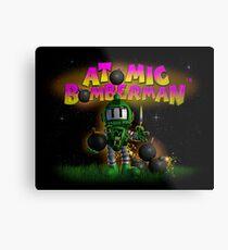 Atomic Bomberman Metal Print