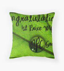 NPC Banner Throw Pillow