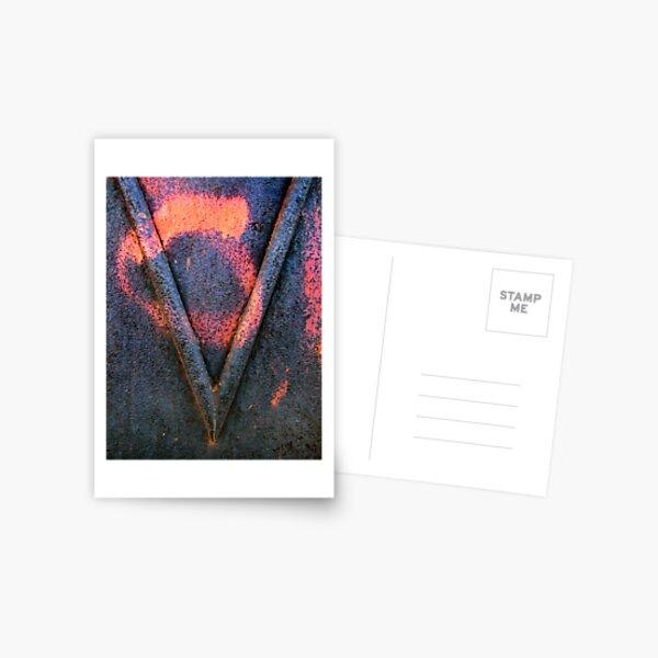 Letter V Postcard