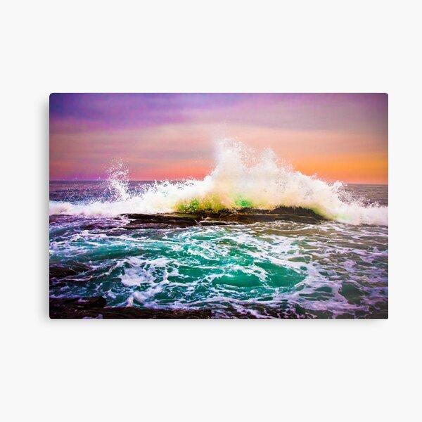 Ocean Skittles Metal Print