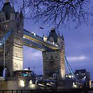Tower Bridge London by inglesina