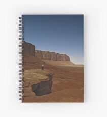 Off Into The Valley Spiral Notebook